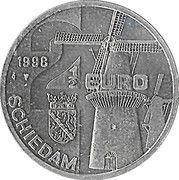 2½ Euro - Schiedam (de Walvisch) -  obverse