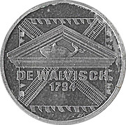 2½ Euro - Schiedam (de Walvisch) -  reverse