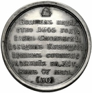 Medal - Alexey Mikhailovich, the Quietest, 1645-1676 (№ 50) – reverse