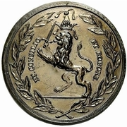 Medal - Peter I (Honoring Count Feodor Alexeevich Golovin) – reverse
