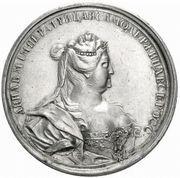 Medal - Anna (Glory of Empress Anna) -  obverse