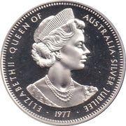 Medal - Elizabeth II (Silver Jubilee Visit) – obverse