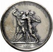 Medal - Rodomysl of the 19th Century (The Battle of Borodino) – reverse