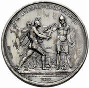 Medal - Rodomysl of the 19th Century (Battle of Malojaroslawez) – reverse