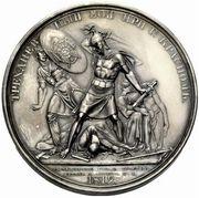 Medal - Rodomysl of the 19th Century (Battle of Krasnoi) – reverse