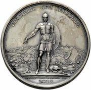 Medal - Rodomysl of the 19th Century (Battle of Berezina) – reverse