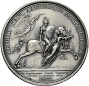 Medal - Rodomysl of the 19th Century (Crossing of the Russian border by Emperor Alexander I and his army) – reverse