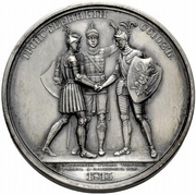 Medal - Rodomysl of the 19th Century (Triple Alliance) – reverse