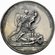 Medal - Rodomysl of the 19th Century (Battle of Katzbach Heights) – reverse