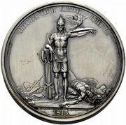 Medal - Rodomysl of the 19th Century (Battle of Leipzig) – reverse