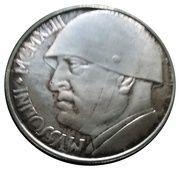100 Lire (Mussolini) – obverse