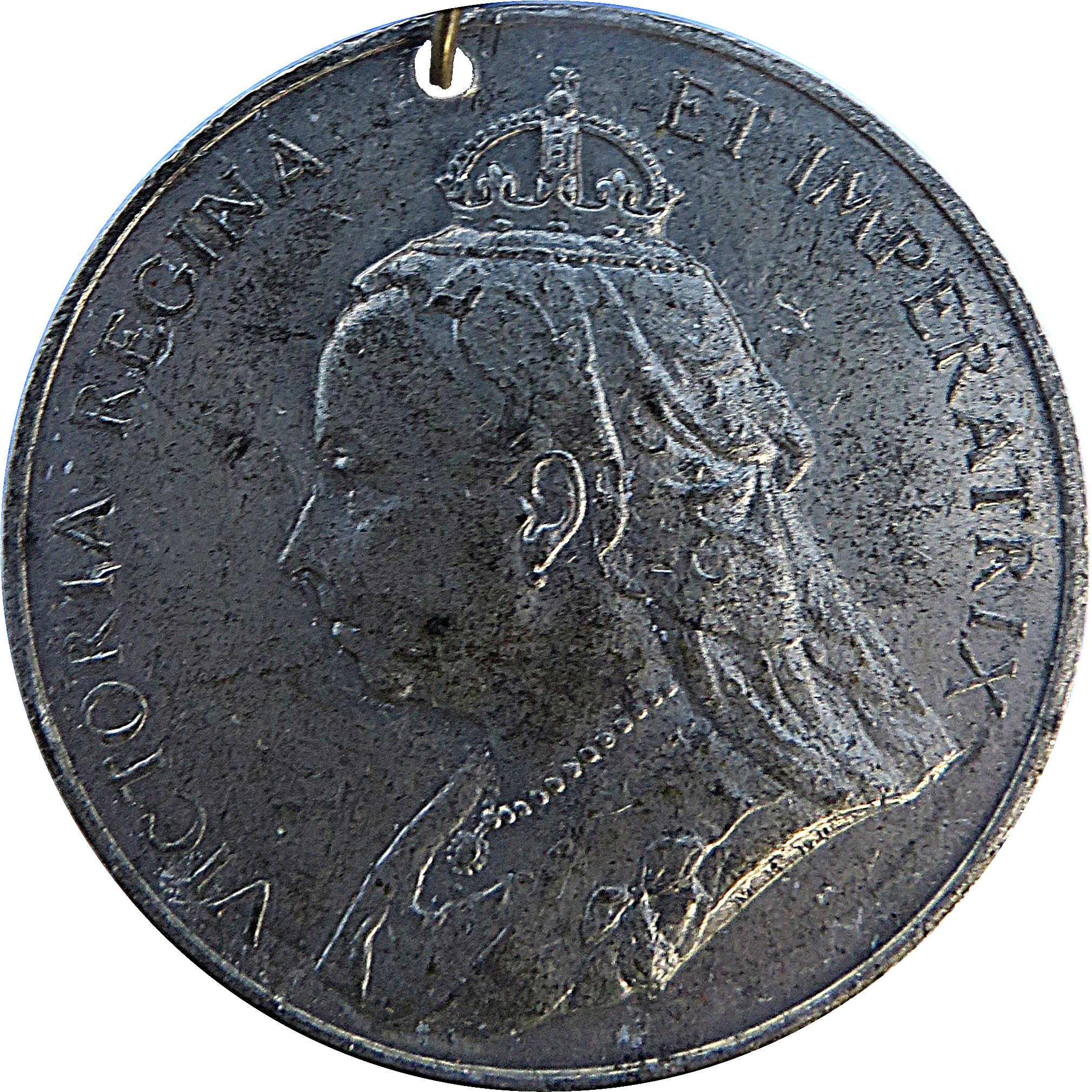 victoria regina et imperatrix coin