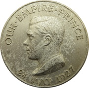 Medal - Empire Day 1927 – obverse