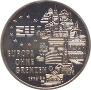 2 Euro (Europe without borders) -  reverse