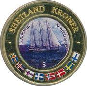 5 Kroner (Eendracht, Netherlands) – obverse