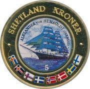 5 Kroner (Alexander von Humboldt, Germany) – obverse