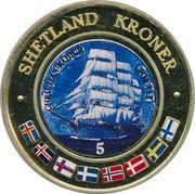 5 Kroner (Christian Radich, Norway) – obverse