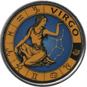 1 Rupee (Virgo) – reverse