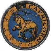 1 Rupee (Capricorn) – reverse
