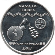1 Quarter Dollar – reverse