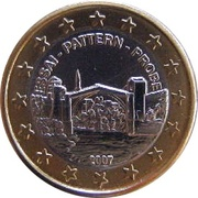 1 Europ (Bosnia and Herzegovina Euro Fantasy Token) – obverse