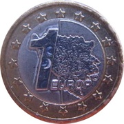 1 Europ (Bosnia and Herzegovina Euro Fantasy Token) – reverse