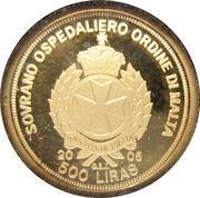 500 Liras (Pope John Paul II) – obverse