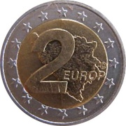2 Europ (Bosnia and Herzegovina Euro Fantasy Token) – reverse