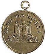 Medal - Casa da Moeda (Inauguration of the Paper Mill) – obverse