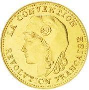 1 gram Gold (Germinal) – obverse