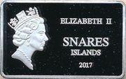 10 Dollars - Elizabeth II (Snares penguin) – obverse