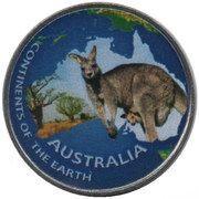 1 Rupee (Australia) – reverse
