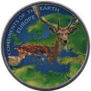1 Rupee (Europe) – reverse