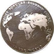 Medal - Gold Maple Leaf – reverse