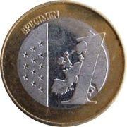 1 (Serbia Euro Fantasy Token) – reverse