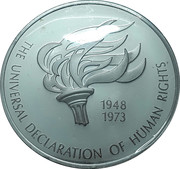 Medal - United Nations (Human Rights Declaration) -  obverse