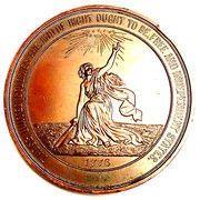Medal - U.S. Centennial – reverse