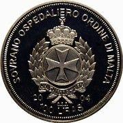 100 Liras (Netherlands in the EU) – obverse