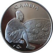 Medal - United Nations (Gambia) – obverse