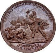 Medal - Attack on Copenhagen (Bronze) – reverse