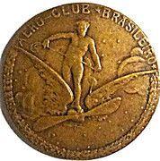 Medal - Aero-Club Brasileiro – obverse
