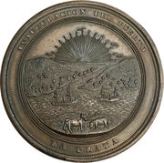 Inauguration of the port of La Plata (Buenos Aires) – obverse