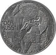 2½ Euro (Gustav Klimt) – obverse