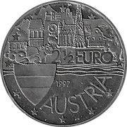 2½ Euro (Gustav Klimt) – reverse
