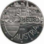 2½ Euro (Wiener Schatzkammer) – reverse