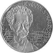 5 ECU (Johann Strauss) -  obverse