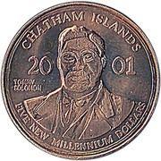 5 Dollars (Millennium) – obverse
