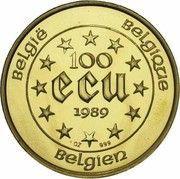 100 Écu - Baudouin I (Maria Theresia) – reverse