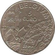 5 Euro - Albert II – reverse