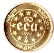 50 Écu - Baudouin I (Treaties of Rome) – reverse